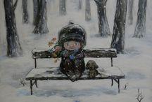 Нино Чакветадзе / Живопись Нино Чакветадзе / Painting Nino Chakvetadze