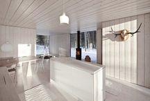 Hytte interiør