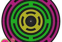 WGC - Bund - Mandala / Wayuu, Graphghans, Cross Stitch pattern