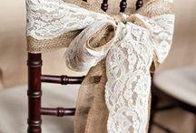 svatební židle