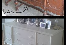 Restored furniture