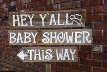 baby shower board