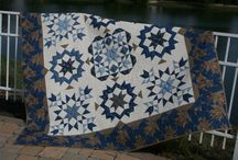 Blue and Brown Quilts / Quilts