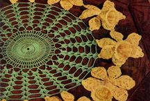 Crochet Doily Patterns / This board has a collection of crochet doilies, tablecloth & bedspread motifs, runners, placemats, and other thread patterns.