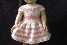 """Doll dresses 18"""""""