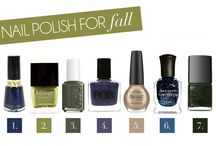 Nail Color / Nail polishes I Love!! / by Denise Stanley