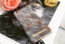 iDeal - Fashion Case Royal Grey Marble