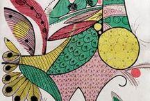 Quadros para mosaicos