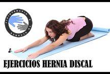 ejercicios hernia discal