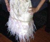 Wedding change dress Gatsby style 1920s