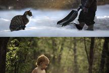 baietelul si animalele