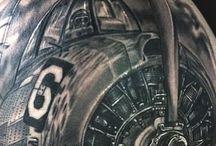 Plane tatoo