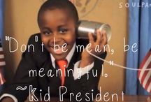 Kid President Blog Project / #kidpresident has inspired children all over the world to speak up and realise that their voice needs to be heard so they too can help make the world awesome. We sent the #SOSAfrica children #kidpresident 's 'Pep Talk' video and encouraged them to come up with their own pep motto....  Visit our blog to see what we did http://sosafrica-children.blogspot.co.uk/2015/05/inspired-by-kid-president.html