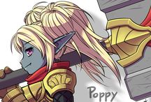 Poppy, la yordle au marteau