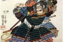 Рисунки самураи