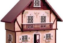 Chalet dollhouse converted to Victorian / I built with my Dad 42 years ago. / by Dolly Bellamy