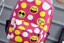 Emoji Backpack / Now a days we can used different types of Emoji In our messages. Here In this board you can explore different kinds Of Emoji Bag Pack with different reactions.