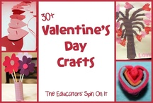Valentine's Day crafts / by Jennifer McDaniel Hodge