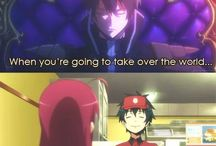 The Devil is a part-timer.