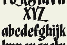Tipografías / Typography