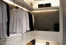 Wardrobes and walk in closets