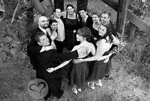 Alot of bridal party photos