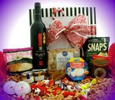 Christmas Hampers containing Alcohol