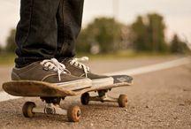 S k a t e  / skateboarding