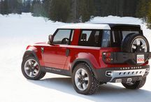 NEW DEFENDER / The new model Land Rover Defender will adopt the technology from other luxury SUVs