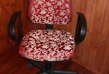 Текстиль в интерьере / чехлы на стулья