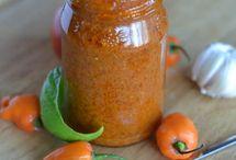 Peper/sambal/chutney