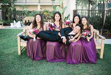 Bridesmaid Photos / Posing for bridesmaid photos / Ideas for group shots