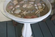 decorate with shells