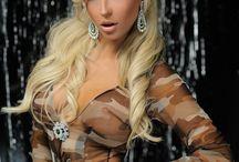 Andrea / Teodora Andreeva Rumenova, Singer, Bulgaria, Blonde, Hair
