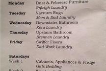 { organize / household }