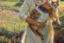 Paintings and Drawings / Paintings and drawings that inspire me  / by K. D. Wildflowers