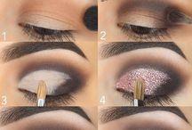 Sombra maquiagem
