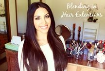 hair extension board