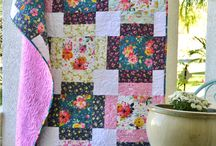 Charity Quilt Ideas / Let's make quilts with our friends, and give them to people in need! Quilts that are simple, modern, fun, and not too-fussy. And great for donated fabrics.