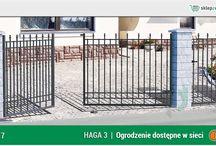 Ogrodzenie klasyczne HAGA 3