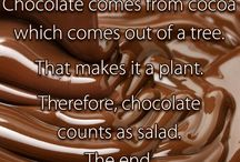 All Things Chocolate / Anything that has to do with Chocolate