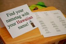 Ideas for Hawaii birthday party
