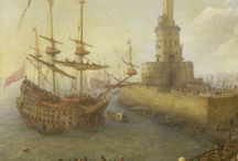Sail Warships / Looking For First-Rate, Ship of the Line, Fully-Rigged, Three-Decker, >100-Gun, Galleon/Fluyt Sail Warship