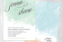 Wedding invitations / by Nina Treiman