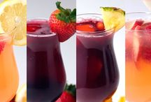 Bebidas, drinks, sangrias.....