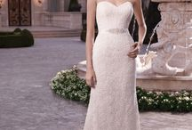 33 Gorgeous Strapless Gowns / The strapless wedding dress is one of the most popular styles of choice for brides-to-be. It's simple, classic, and looks great on almost all body types. Here are some of the gorgeous gowns available at Ferrari Formalwear & Bridal