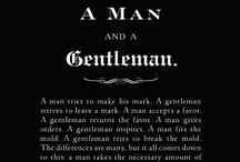 Modern Gentleman / Male Fashion.