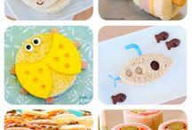 recetas para niños: sandwich divertidos