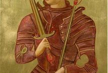 warrior saint