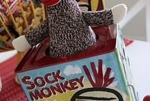 Sock Monkey Birthday / by Ashley Bass